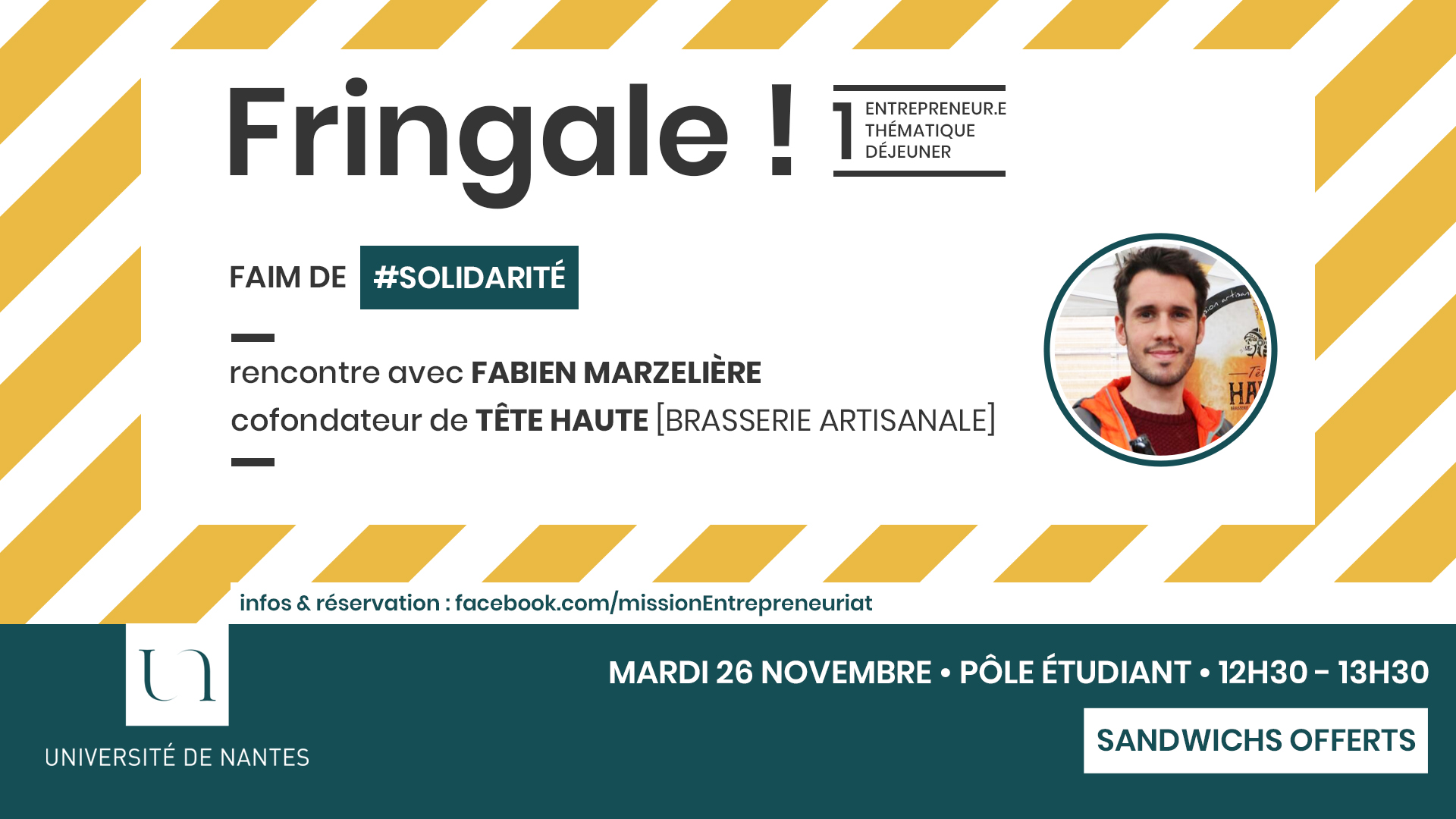 Fringale ! Tête Haute - Fabien Marzelière