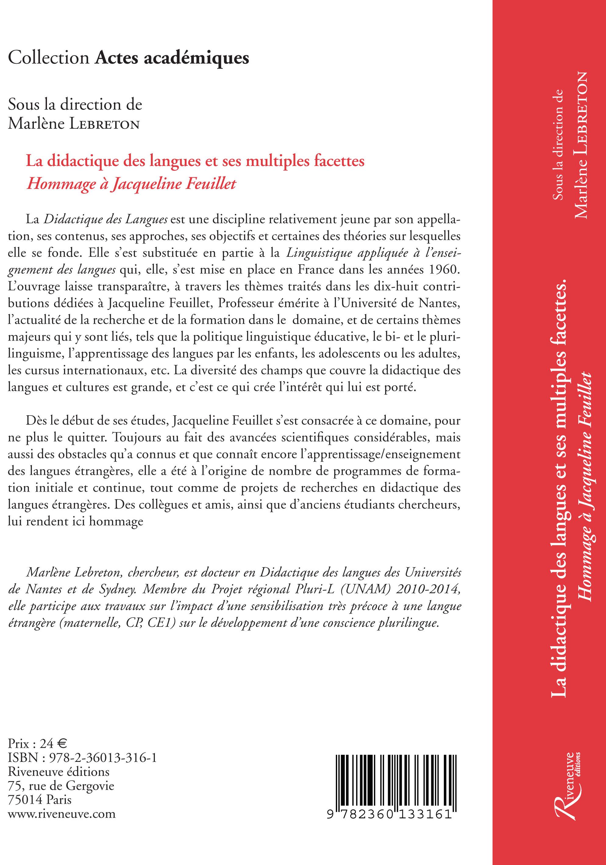 Apprentissage précoce d'une langue étrangère et bilinguisme - Jacqueline Feuillet