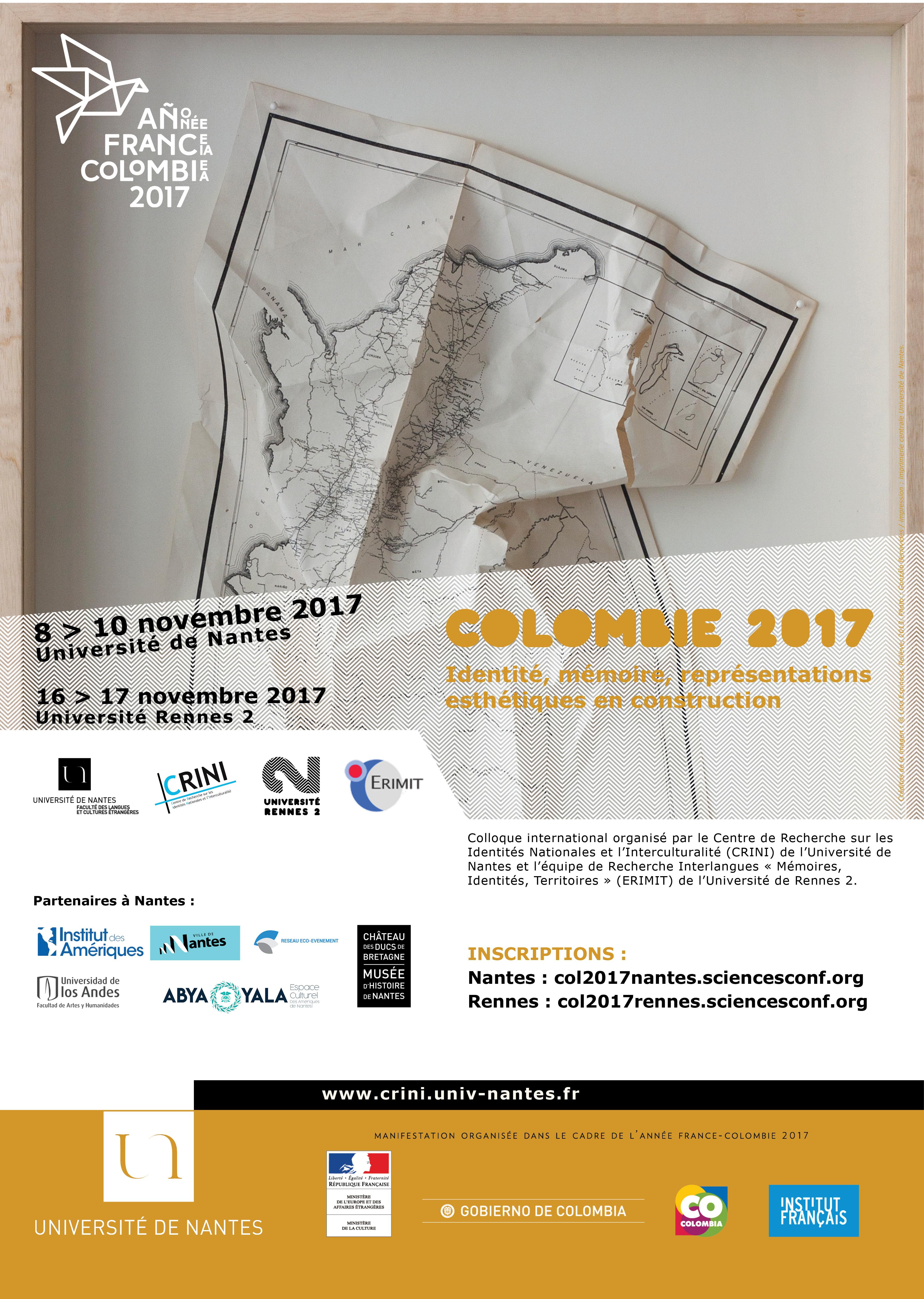 Affiche Colloque Colombie
