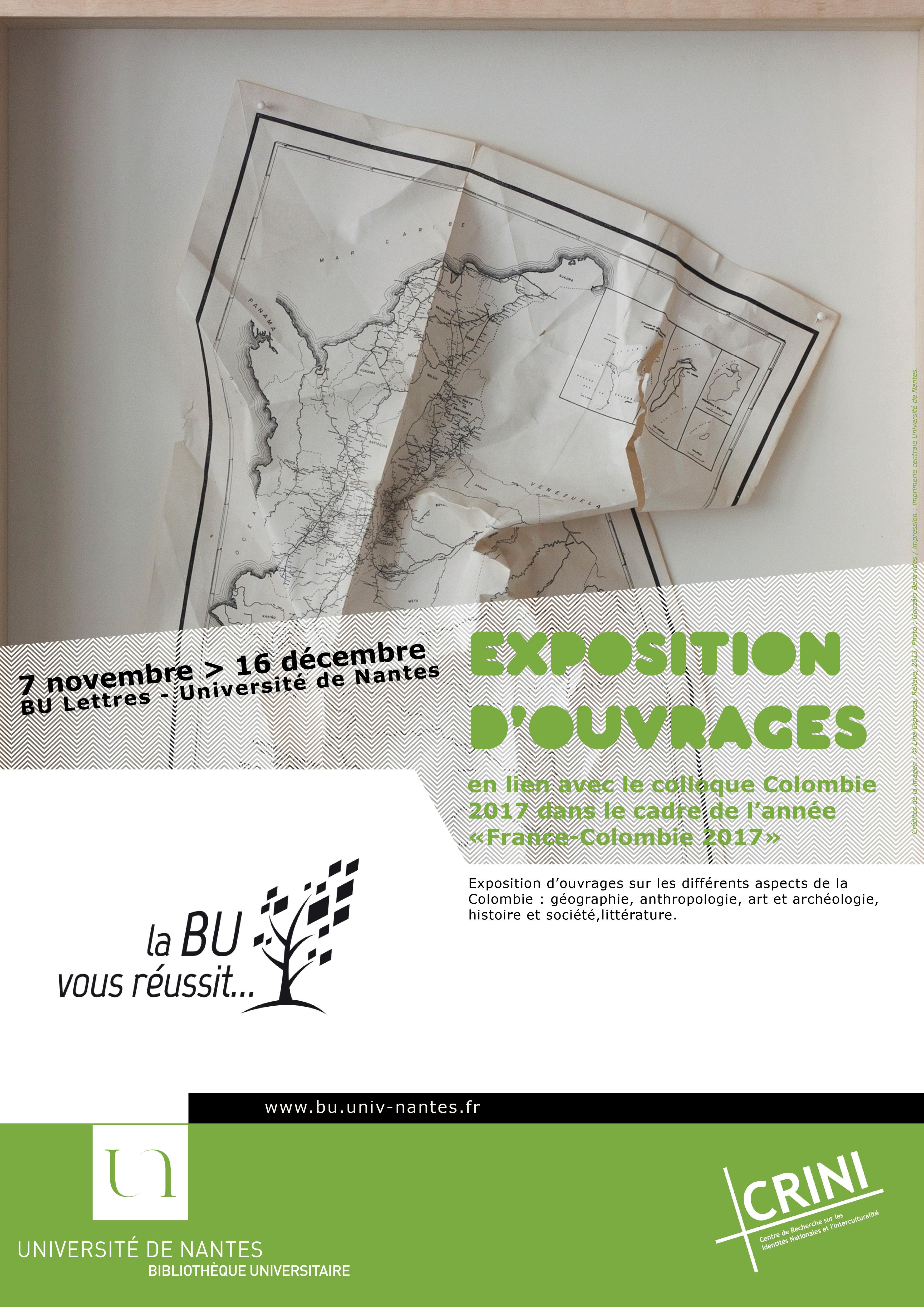 Exposition d'ouvrages BU Lettres
