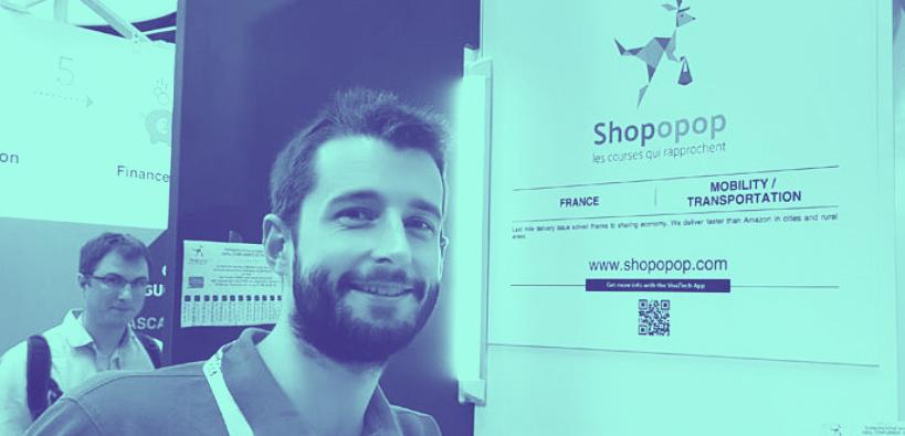 Antoine Cheul, Shopopop - Université de Nantes