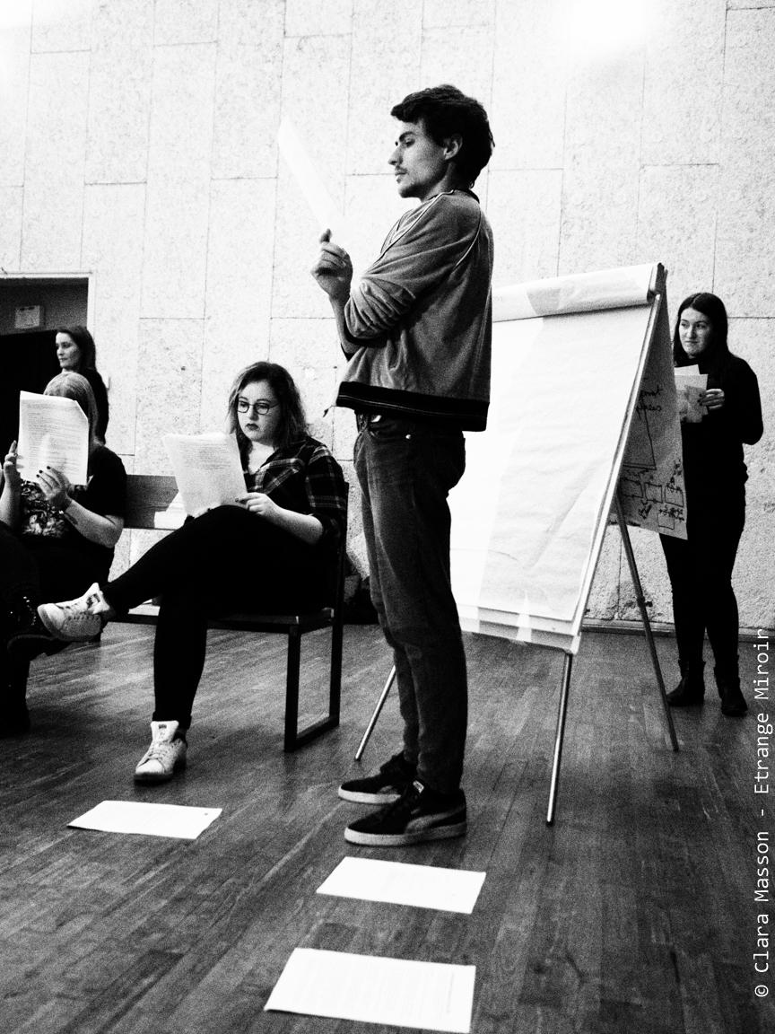 Atelier de création avec le collectif Etrange Miroir