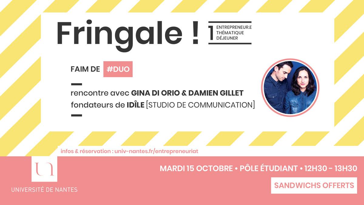 Fringale ! - Université de Nantes - Idile