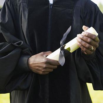 Retrait de diplôme