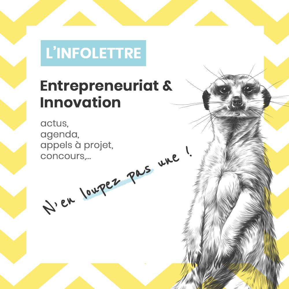 Infolettre entrepreneuriat et innovation