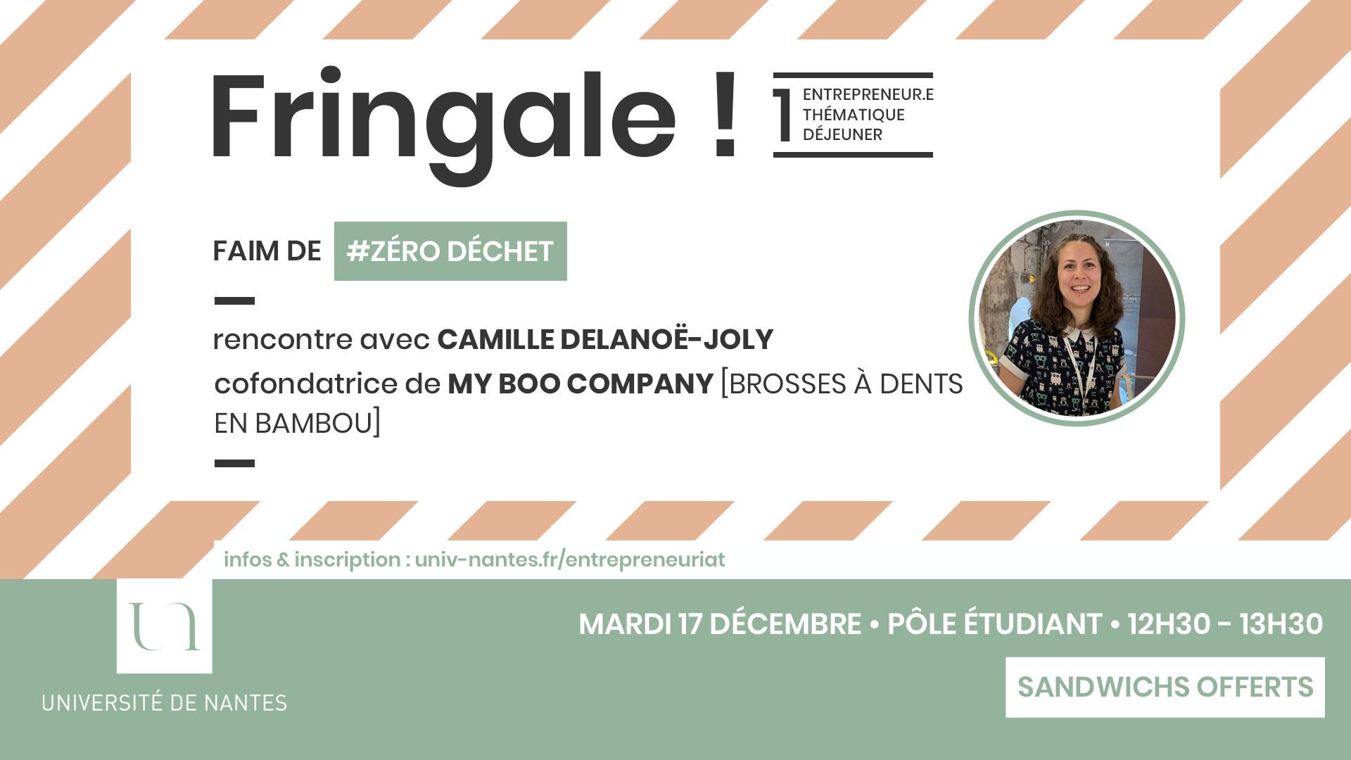 Fringale ! - Université de Nantes - My Boo Company