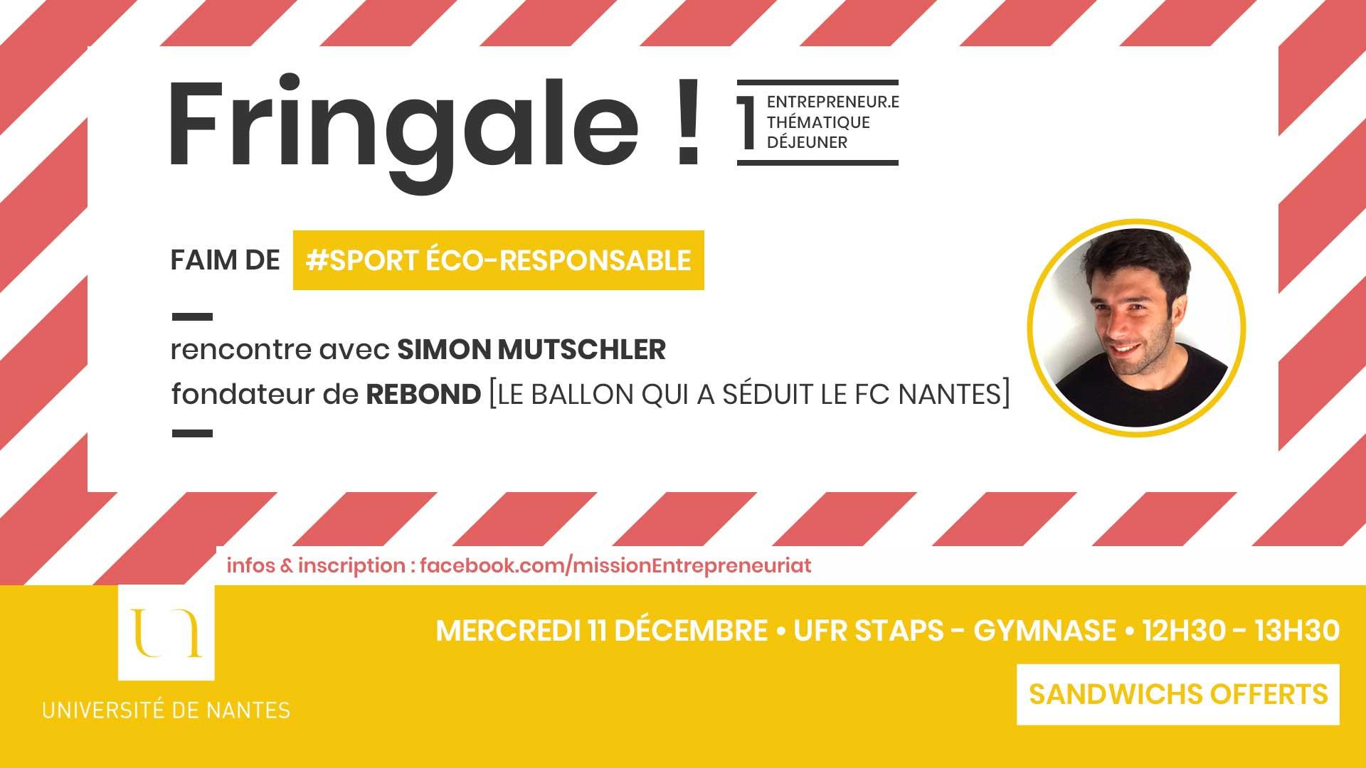Fringale ! - Université de Nantes - Rebond - FC Nantes