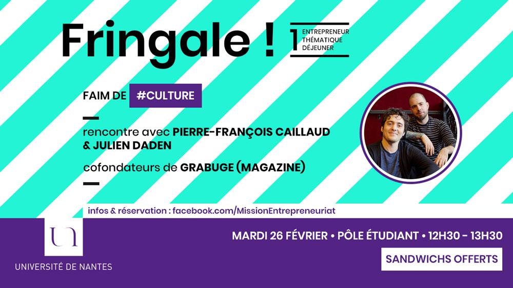 Fringale ! Grabuge Magazine