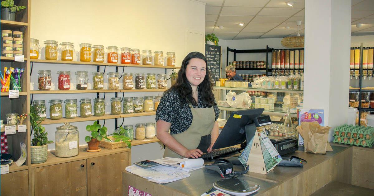 Hélène Roy - fondatrice de l'épicerie vrac zéro déchet Chez la Voisine à Nantes