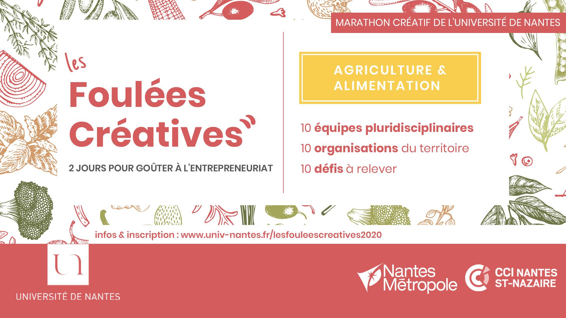 Les Foulées Créatives - marathon créatif pluridisciplinaire - Université de Nantes