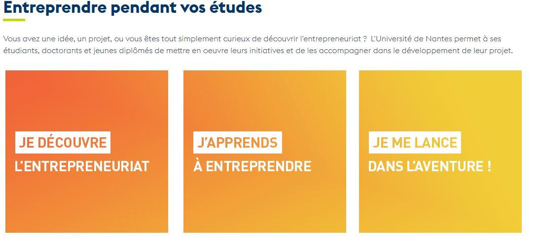 Mission entrepreneuriat