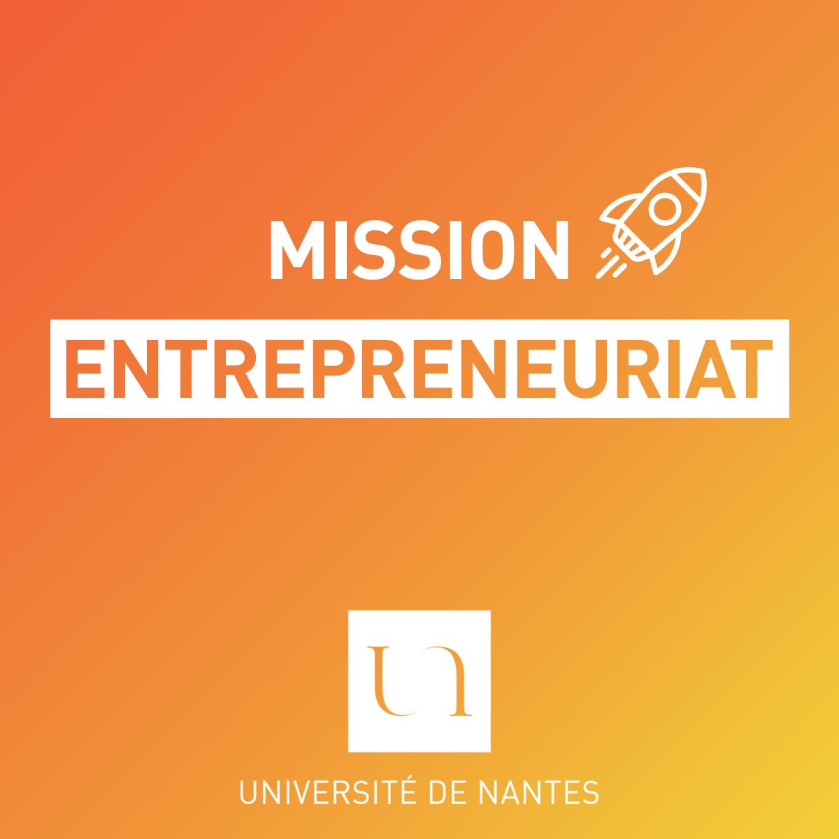 mission Entrepreneuriat - Université de Nantes