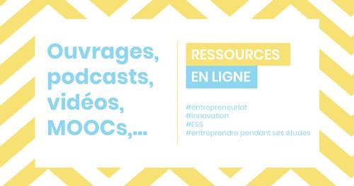 Ressources en ligne - entrepreneuriat