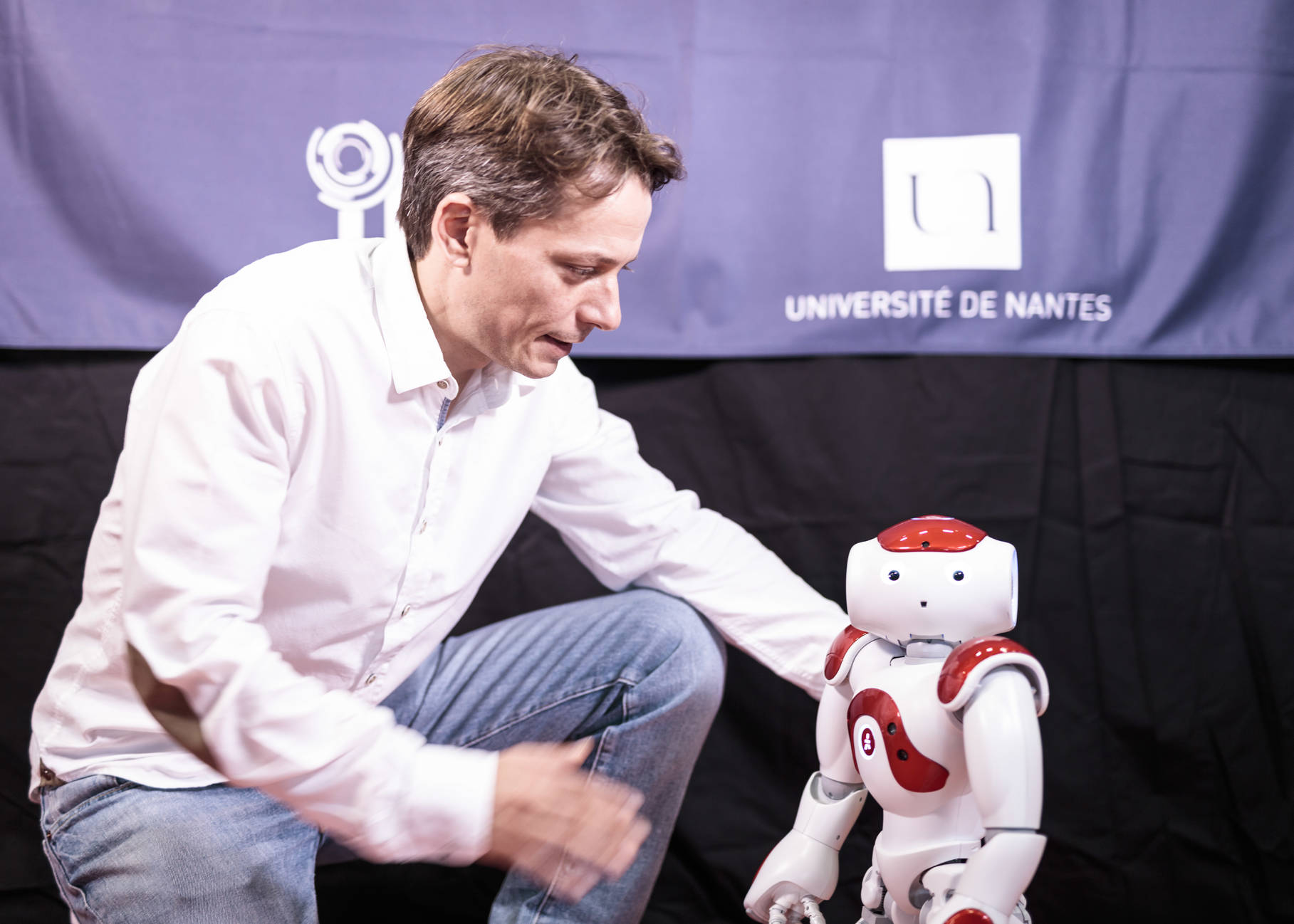 Robot, photo by Franck Tomps for Université de Nantes
